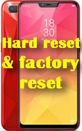 factory reset Oppo Realme 2