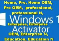 Windows 10 Product Key free 10000% working Home Pro Home OEM Pro OEM-á professional professional N Enterprise Enterprise OEM Enterprise N Education Education N