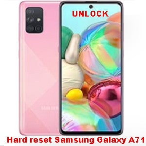 How to hard reset and unlock Samsung Galaxy A71