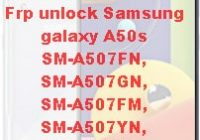 Frp unlock Samsung galaxy A50s google account locked how to unlock