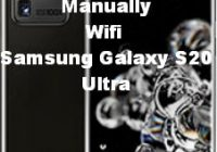 How to att wireless hotspot manually set up Samsung Galaxy S20 ultra