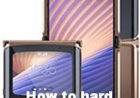 How to hard reset Motorola Razr 5G
